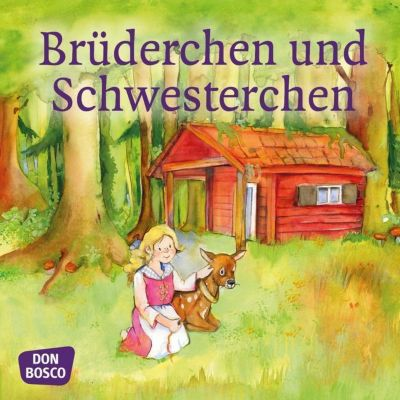 Brüderchen und Schwesterchen. Mini-Bilderbuch, Wilhelm Grimm, Jacob Grimm
