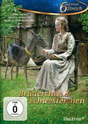 Brüderchen und Schwesterchen - Sechs auf einen Streich, Brüder Grimm