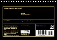 Brügge - Venedig des Nordens (Tischkalender 2019 DIN A5 quer) - Produktdetailbild 13