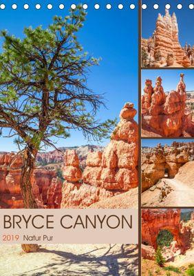 BRYCE CANYON Natur Pur (Tischkalender 2019 DIN A5 hoch), Melanie Viola