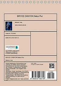 BRYCE CANYON Natur Pur (Tischkalender 2019 DIN A5 hoch) - Produktdetailbild 13
