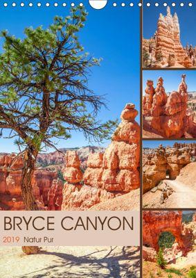 BRYCE CANYON Natur Pur (Wandkalender 2019 DIN A4 hoch), Melanie Viola