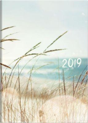 Buchkalender A5 Strand 2019