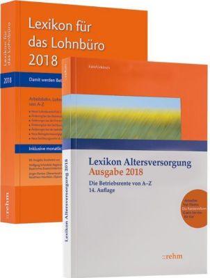 Buchpaket Lexikon für das Lohnbüro und Lexikon Altersversorgung 2018, Wolfgang Schönfeld, Jürgen Plenker, Ralf Fath, Christian Urbitsch