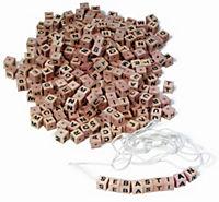 Buchstabenwürfel-Sortiment - Produktdetailbild 1