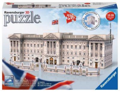 Buckingham Palace. 3D Puzzle