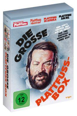 Bud Spencer: Die grosse Plattfuss-Box (inkl. Postkarten)