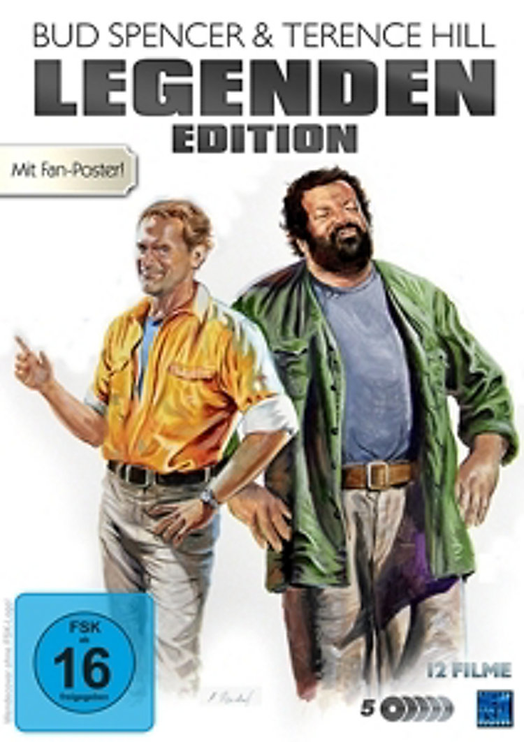 Bud Spencer Terence Hill Legenden Edition Legenden