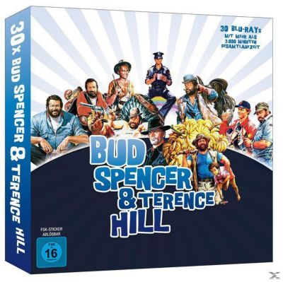 Bud Spencer & Terence Hill - Limited Buchbox Edition Bluray Box