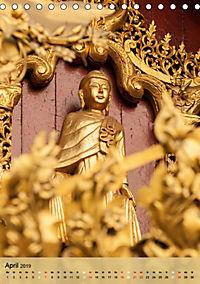 BUDDHA in GOLD (Tischkalender 2019 DIN A5 hoch) - Produktdetailbild 4