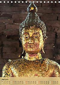 BUDDHA in GOLD (Tischkalender 2019 DIN A5 hoch) - Produktdetailbild 7