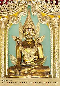 BUDDHA in GOLD (Tischkalender 2019 DIN A5 hoch) - Produktdetailbild 8