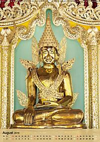 BUDDHA in GOLD (Wandkalender 2019 DIN A2 hoch) - Produktdetailbild 8