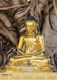 BUDDHA in GOLD (Wandkalender 2019 DIN A2 hoch) - Produktdetailbild 10