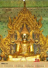BUDDHA in GOLD (Wandkalender 2019 DIN A2 hoch) - Produktdetailbild 3