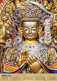 BUDDHA in GOLD (Wandkalender 2019 DIN A2 hoch) - Produktdetailbild 1