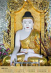 BUDDHA in GOLD (Wandkalender 2019 DIN A2 hoch) - Produktdetailbild 6