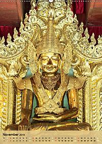 BUDDHA in GOLD (Wandkalender 2019 DIN A2 hoch) - Produktdetailbild 11