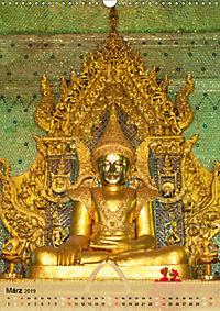 BUDDHA in GOLD (Wandkalender 2019 DIN A3 hoch) - Produktdetailbild 3
