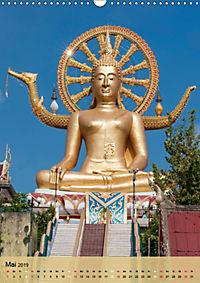 BUDDHA in GOLD (Wandkalender 2019 DIN A3 hoch) - Produktdetailbild 5