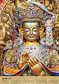 BUDDHA in GOLD (Wandkalender 2019 DIN A3 hoch) - Produktdetailbild 1