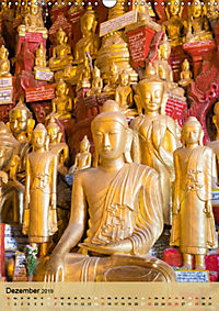 BUDDHA in GOLD (Wandkalender 2019 DIN A3 hoch) - Produktdetailbild 12