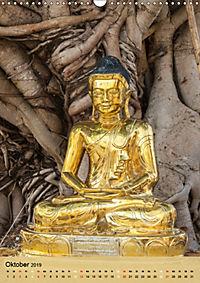BUDDHA in GOLD (Wandkalender 2019 DIN A3 hoch) - Produktdetailbild 10