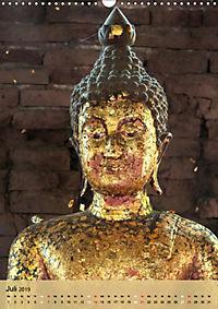 BUDDHA in GOLD (Wandkalender 2019 DIN A3 hoch) - Produktdetailbild 7