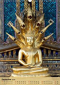 BUDDHA in GOLD (Wandkalender 2019 DIN A3 hoch) - Produktdetailbild 9