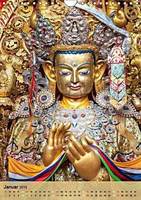 BUDDHA in GOLD (Wandkalender 2019 DIN A4 hoch) - Produktdetailbild 1
