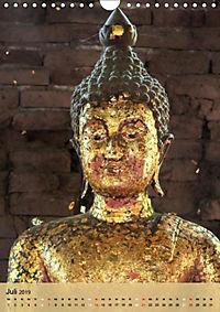 BUDDHA in GOLD (Wandkalender 2019 DIN A4 hoch) - Produktdetailbild 7