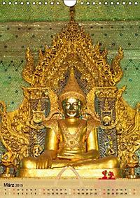 BUDDHA in GOLD (Wandkalender 2019 DIN A4 hoch) - Produktdetailbild 3