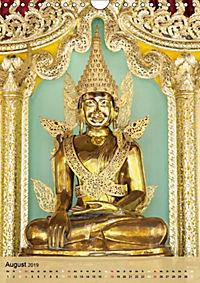 BUDDHA in GOLD (Wandkalender 2019 DIN A4 hoch) - Produktdetailbild 8
