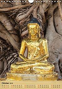 BUDDHA in GOLD (Wandkalender 2019 DIN A4 hoch) - Produktdetailbild 10