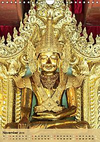 BUDDHA in GOLD (Wandkalender 2019 DIN A4 hoch) - Produktdetailbild 11