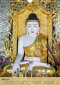 BUDDHA in GOLD (Wandkalender 2019 DIN A4 hoch) - Produktdetailbild 6