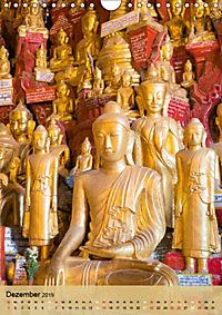 BUDDHA in GOLD (Wandkalender 2019 DIN A4 hoch) - Produktdetailbild 12