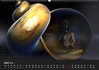 Buddha und Yin Yang (Wandkalender 2019 DIN A2 quer) - Produktdetailbild 4