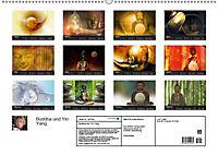 Buddha und Yin Yang (Wandkalender 2019 DIN A2 quer) - Produktdetailbild 13