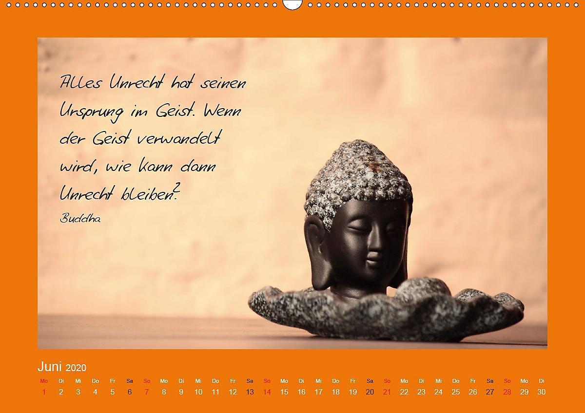 Buddha Zitate Premium Kalender 2020 Din A2 Quer Kalender