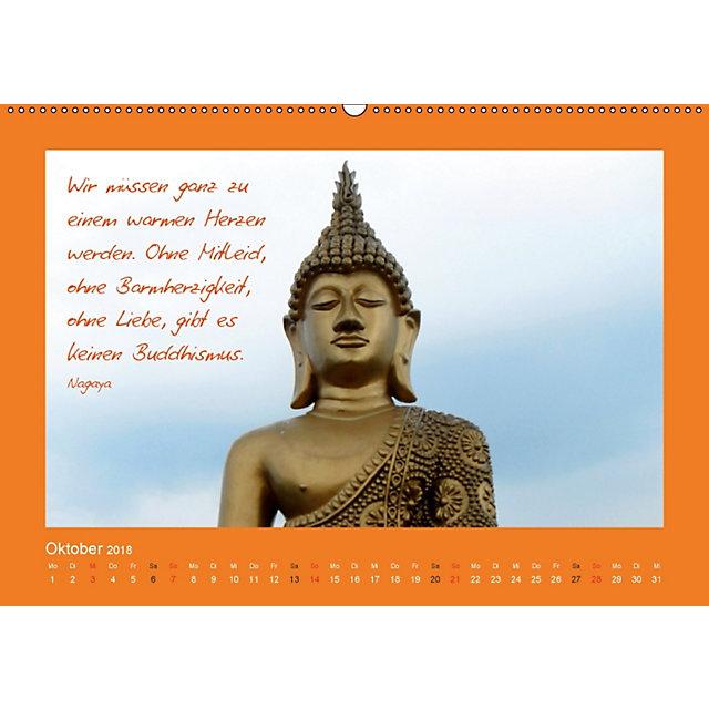 Buddha Zitate Wandkalender 2018 Din A2 Quer Kalender