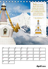 BUDDHAS ZITATE Buddhistische Weisheiten (Tischkalender 2019 DIN A5 hoch) - Produktdetailbild 4