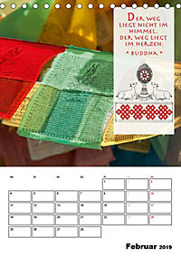 BUDDHAS ZITATE Buddhistische Weisheiten (Tischkalender 2019 DIN A5 hoch) - Produktdetailbild 2