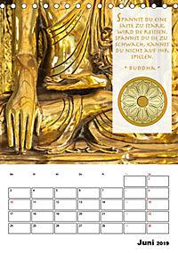 BUDDHAS ZITATE Buddhistische Weisheiten (Tischkalender 2019 DIN A5 hoch) - Produktdetailbild 6