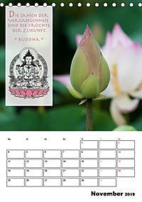 BUDDHAS ZITATE Buddhistische Weisheiten (Tischkalender 2019 DIN A5 hoch) - Produktdetailbild 11