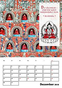 BUDDHAS ZITATE Buddhistische Weisheiten (Tischkalender 2019 DIN A5 hoch) - Produktdetailbild 12