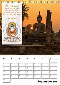 BUDDHAS ZITATE Buddhistische Weisheiten (Tischkalender 2019 DIN A5 hoch) - Produktdetailbild 9