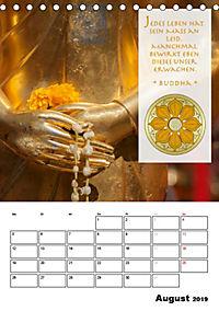 BUDDHAS ZITATE Buddhistische Weisheiten (Tischkalender 2019 DIN A5 hoch) - Produktdetailbild 8