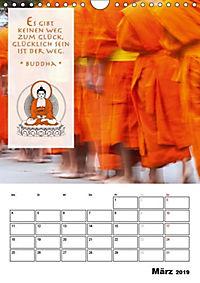 BUDDHAS ZITATE Buddhistische Weisheiten (Wandkalender 2019 DIN A4 hoch) - Produktdetailbild 3