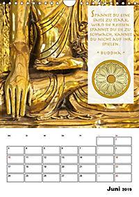 BUDDHAS ZITATE Buddhistische Weisheiten (Wandkalender 2019 DIN A4 hoch) - Produktdetailbild 6